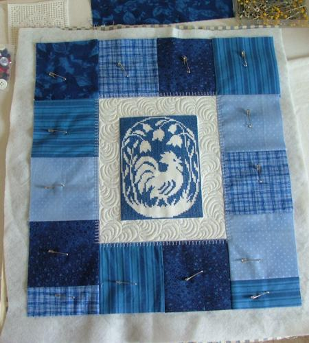 Quilted Wall Hanging With Assisi Embroidery Advanced